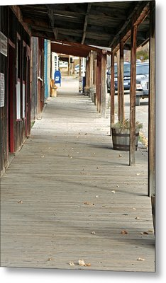 Metal Print featuring the photograph Boardwalk by Lynn Bawden