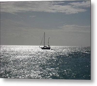Boat  Metal Print by Michael Albright