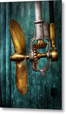 Boat - Propulsion  Metal Print