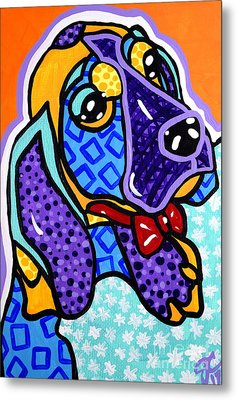 Bob Hound Puppy Metal Print