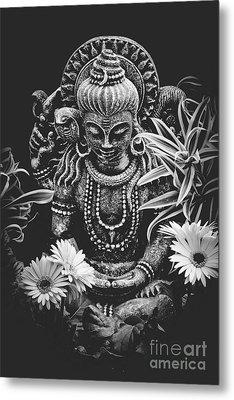 Bodhisattva Parametric Metal Print
