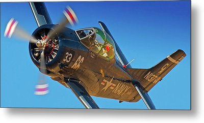 Boeing North American T-38 Race 66 Reno Air Races 2010 Metal Print
