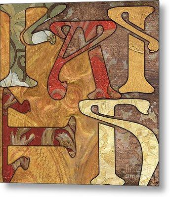 Bohemian Faith Metal Print by Debbie DeWitt
