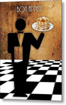 Bon Appetit Metal Print by Marvin Blaine