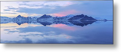 Metal Print featuring the photograph Bonneville Lake by Chad Dutson
