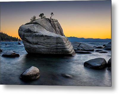 Bonsai Rock Metal Print by Doug Oglesby