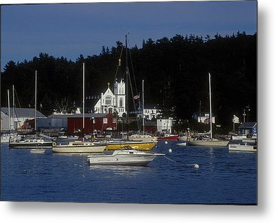 Boothbay Harbor Maine 2 Metal Print by Darleen Stry