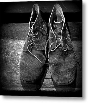 Boots Metal Print by Joseph Skompski
