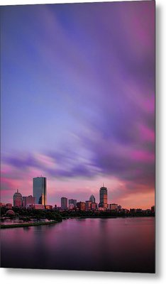 Boston Afterglow Metal Print by Rick Berk