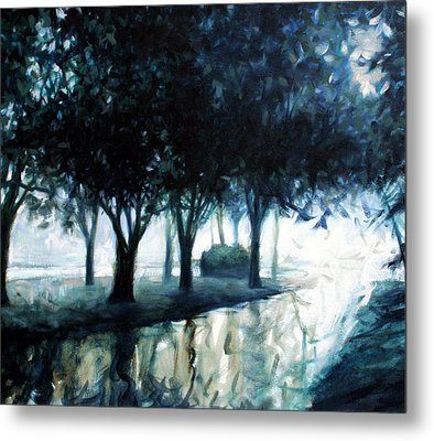 Boulevard Metal Print by Kevin Lawrence Leveque