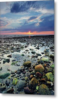 Bound Brook Sunset II Metal Print by Rick Berk