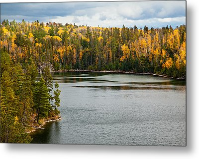 Boundary Waters Overlook Metal Print