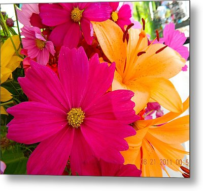 Bouquet Of Beauty Metal Print