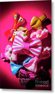 Bow Tie Fashion Show Metal Print