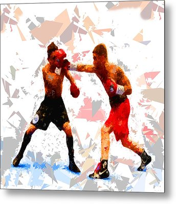 Metal Print featuring the painting Boxing 113 by Movie Poster Prints