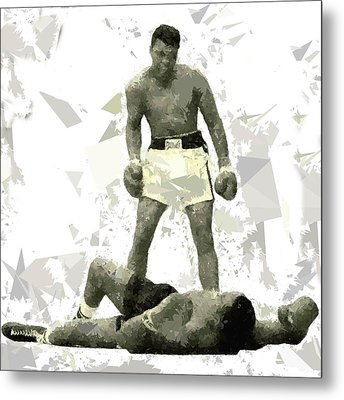 Metal Print featuring the painting Boxing 115 by Movie Poster Prints