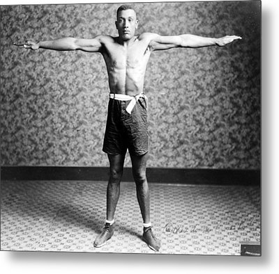Boxing. Boxer Tut Jackson, Ca. 1922 Metal Print by Everett