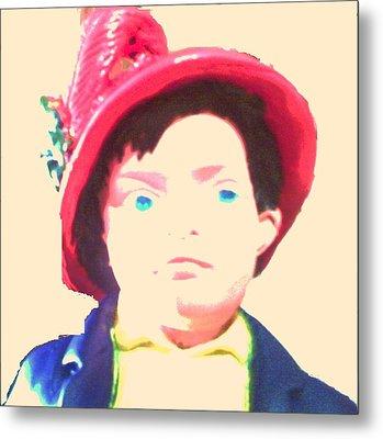 Boy Blue Metal Print
