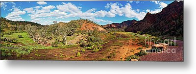 Metal Print featuring the photograph Bracchina Gorge Flinders Ranges South Australia by Bill Robinson