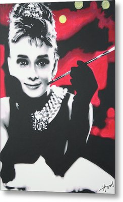 Breakfast At Tiffannys Metal Print