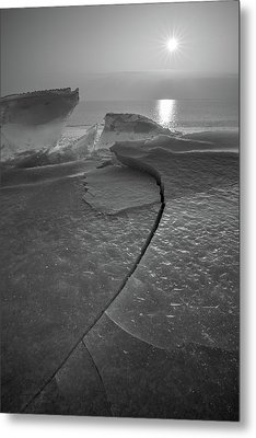 Metal Print featuring the photograph Breaking Point by Davorin Mance