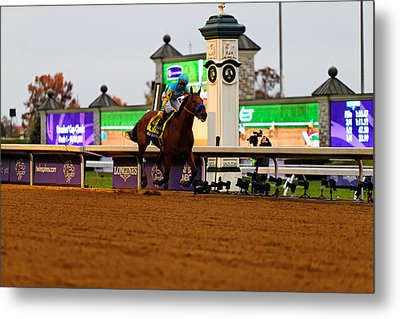 Breeder's Cup 3 Metal Print by Lone Dakota Photography