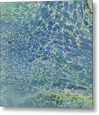 Breeze On Ocean Waves Metal Print