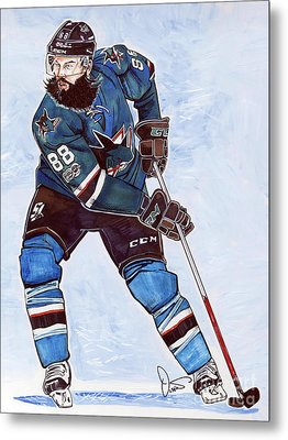 Brent Burns Metal Print