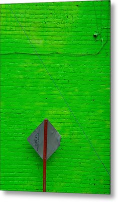 Brick Mortar And Lime Metal Print by Art Ferrier