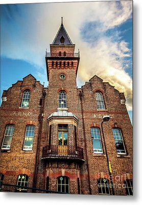 Metal Print featuring the photograph Brick Tower by Perry Webster