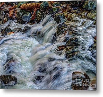 Bridalveil Creek In Yosemite National Park Metal Print