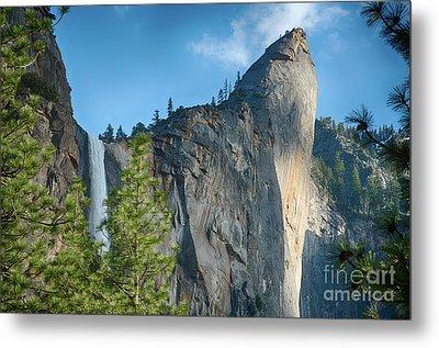 Bridalveil Fall Yosemite National Park Metal Print