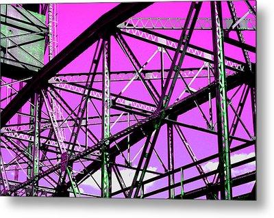Bridge  Frame -  Ver. 8 Metal Print