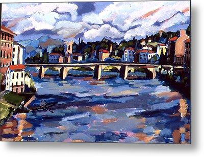 Bridge In Florence Metal Print