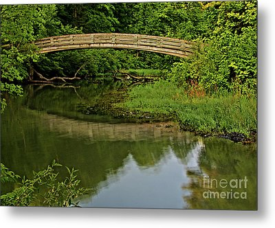 Bridge Over Untroubled Waters Metal Print by Matthew Winn