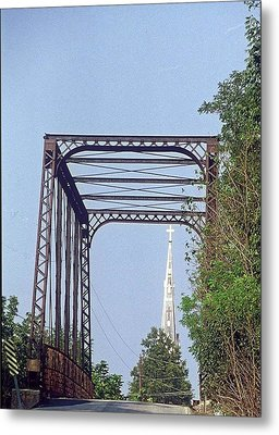 Bridge To God Metal Print by Gary Wonning