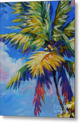 Bright Palm Metal Print by John Clark