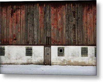 Broad Side Of A Barn Metal Print by Julie Hamilton
