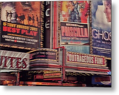 Broadway Metal Print by Benjamin Matthijs