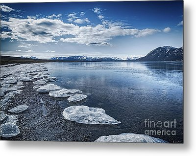 Broken Ice Metal Print by Svetlana Sewell