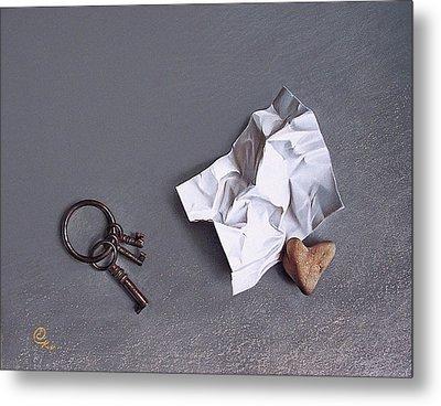 Broken Promise - 2 Metal Print by Elena Kolotusha