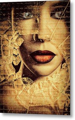 Broken Window Metal Print by Bob Orsillo