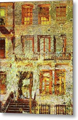 West Side Van Gogh Metal Print