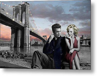 Brooklyn Bridge Metal Print by Chris Consani