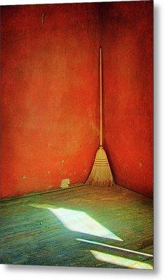 Broom Metal Print