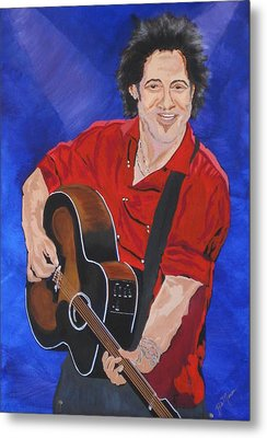 Bruce Springsteen-an American Boy Metal Print