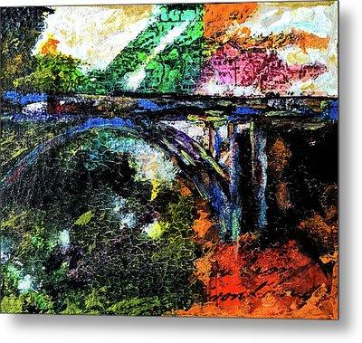 Brush Creek Bridge Metal Print