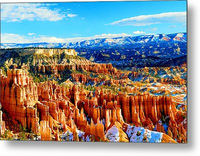 Bryce Overlook Metal Print