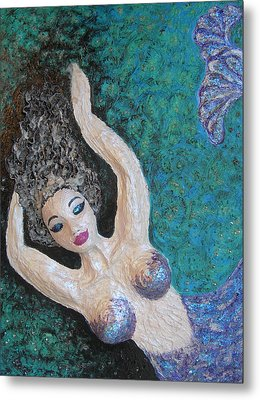 Bubbles Metal Print by Sherri Bramlett