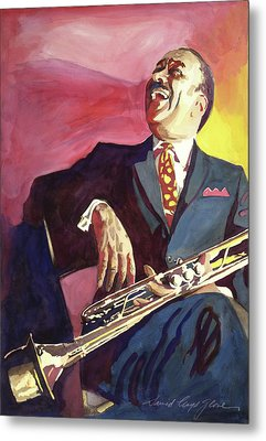 Buck Clayton Jazz Trumpet Metal Print by David Lloyd Glover